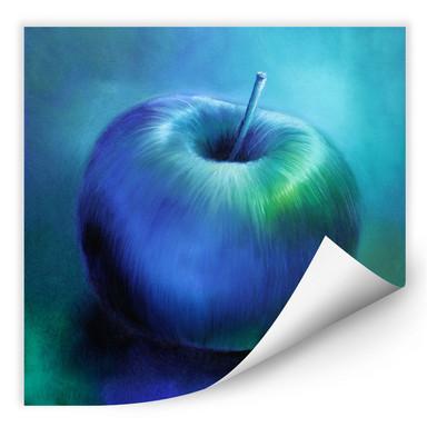 Wallprint Schmucker - Blauer Apfel