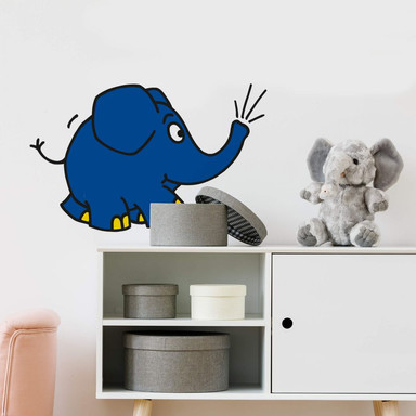 Wandsticker Elefant 04