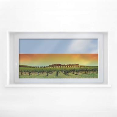 Fensterbild Toskana