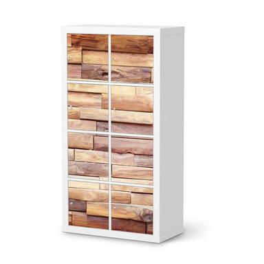 Folie IKEA Kallax Regal 8 Türen - Artwood- Bild 1