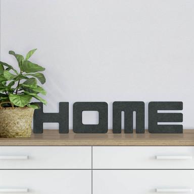 MDF-Holzbuchstaben Home 1