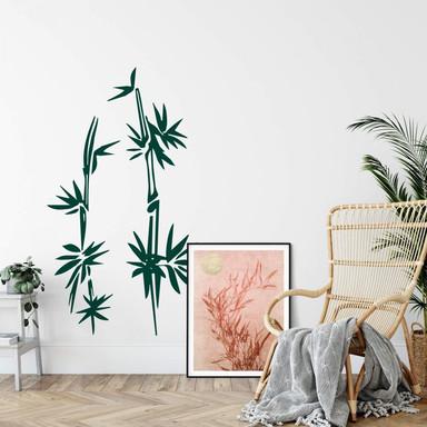 Wandtattoo Bambus 2