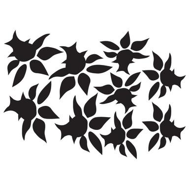 Wandtattoo Blüten-Set 10