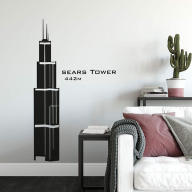 Wandtattoo Sears Tower