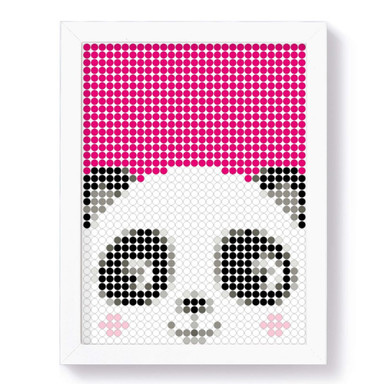 Dot-On Klebeposter L - Panda 30x40cm - Bild 1