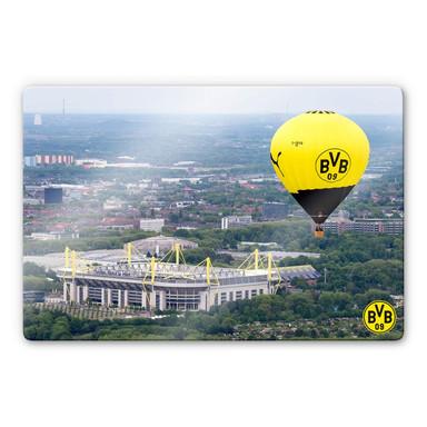 Glasbild BVB - Heissluftballon