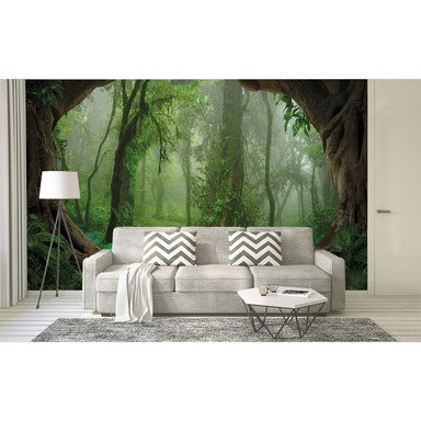 Livingwalls Fototapete Designwalls Tropical Forest Wald