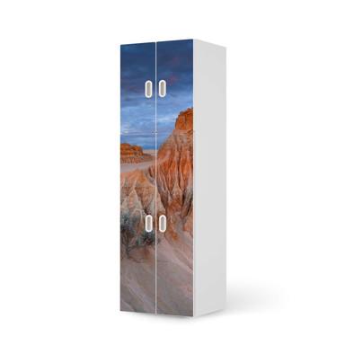 Möbelfolie IKEA Stuva / Fritids - 2 grosse und 2 kleine Türen - Outback Australia