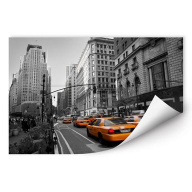 Wallprint Cabs in Manhattan