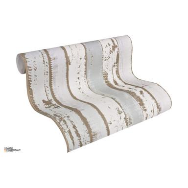 A.S. Création Holzoptik Tapete Authentic Walls beige, braun, grau