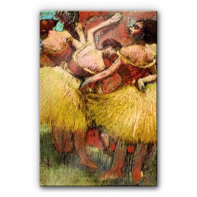 Acrylglasbild Degas - Drei Tänzerinnen