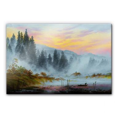 Acrylglasbild Friedrich - Der Morgen