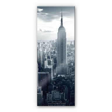 Acrylglasbild The Empire State Building - Panorama