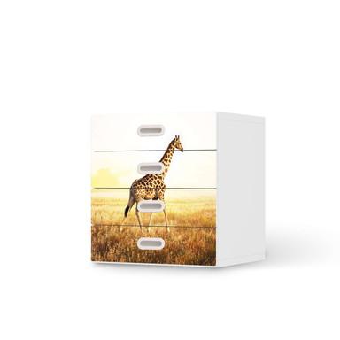 Klebefolie IKEA Stuva / Fritids Kommode - 4 Schubladen - Savanna Giraffe- Bild 1