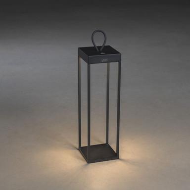 LED Akkuleuchte Ravello in Schwarz 2.2W 180lm IP54 500mm
