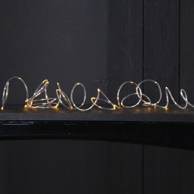 LED Mini Lichterschlauch Tuby in Klar