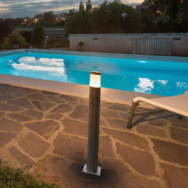 Outdoor LED Wegeleuchte Trust, Edelstahl 316. 3000 K, warmweiss, 600 mm, IP55