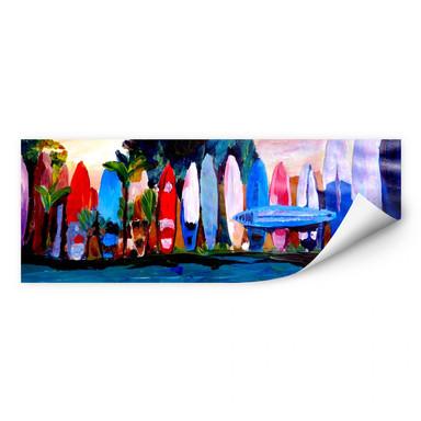 Wallprint Bleichner - Surfwall - Panorama
