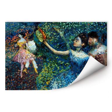 Wallprint Degas - Tänzerin mit Tambourin