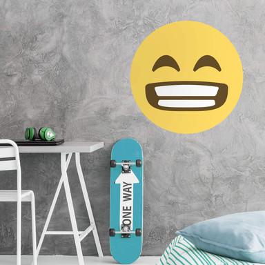 Wandtattoo Emoji Grinning Face