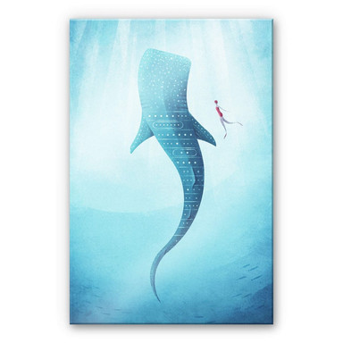 Acrylglasbild Rivers - Der Walhai