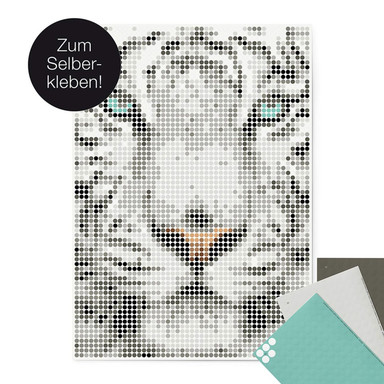 Dot-On Klebeposter XL - Tiger 50x70cm - Bild 1