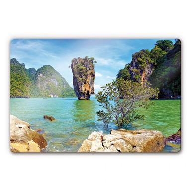 Glasbild Khao Ta-Pu Island