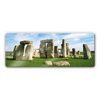 Glasbild Stonehenge 2 Panorama