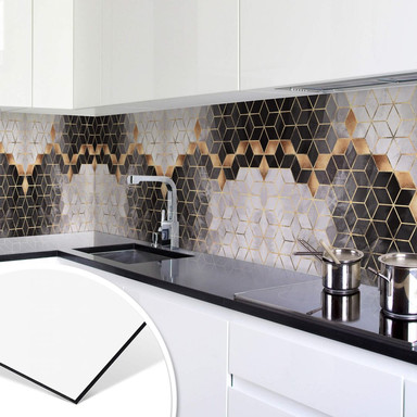 Küchenrückwand Fredriksson - Smoky Cubes