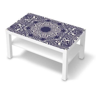 Möbelfolie IKEA Lack Tisch 90x55cm - Blue Mandala