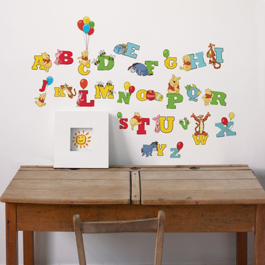 Wandsticker Buchstaben Winnie Puuh - Bild 1