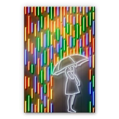 Acrylglasbild Mielu - Rain