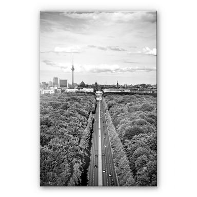 Acrylglasbild XXL Der Himmel über Berlin