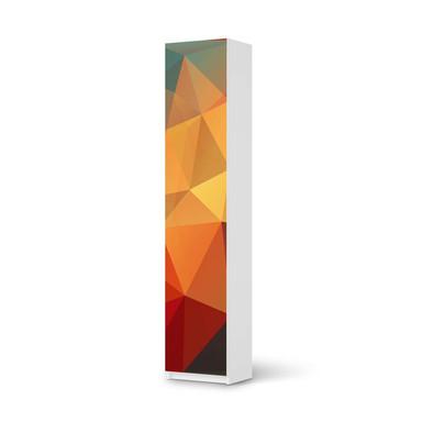 Klebefolie IKEA Pax Schrank 236cm Höhe - 1 Tür - Polygon- Bild 1