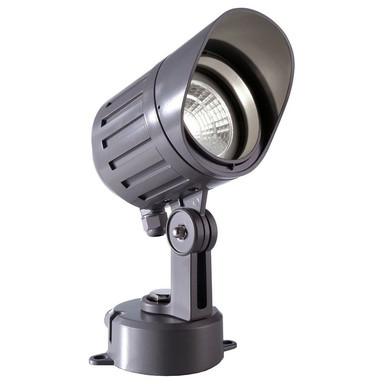 LED Strahler Power Spot COB V in Anthrazit 9W 4000K IP65