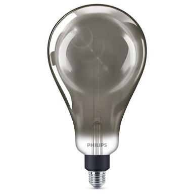 Philips LED Lampe ersetzt 25W, E27. Birne - A160. klar, Rauchglas, 270lm, dimmbar, 1er Pack EEK A
