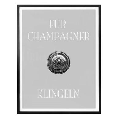 Poster Für Champagner klingeln