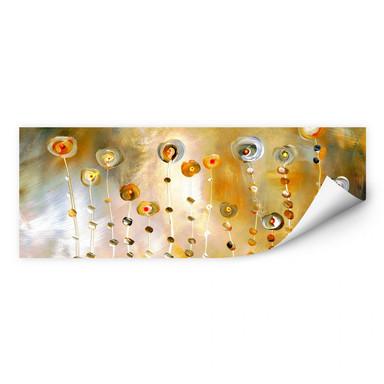 Wallprint Niksic - Golden Eye - Panorama