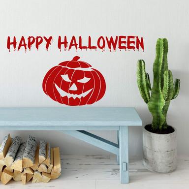 Wandtattoo Happy Halloween