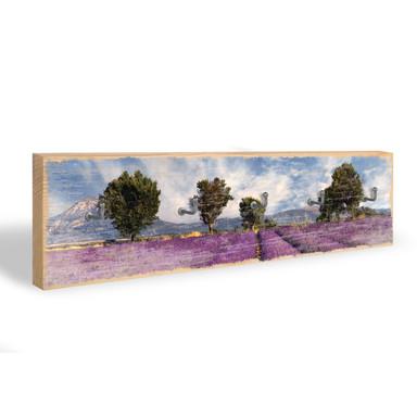 Schlüsselbrett Lavendelfeld
