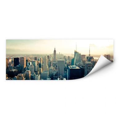 Wallprint Skyline von New York City - Panorama