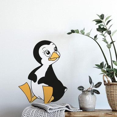 Wandsticker Benjamin Blümchen Pinguin Peggy