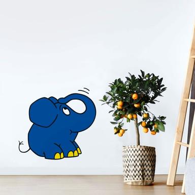 Wandsticker Elefant 09