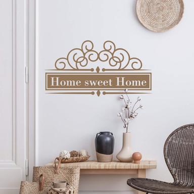 Wandtattoo Home sweet Home 4