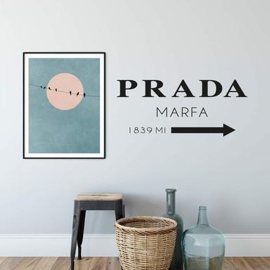 Wandtattoo Prada Marfa