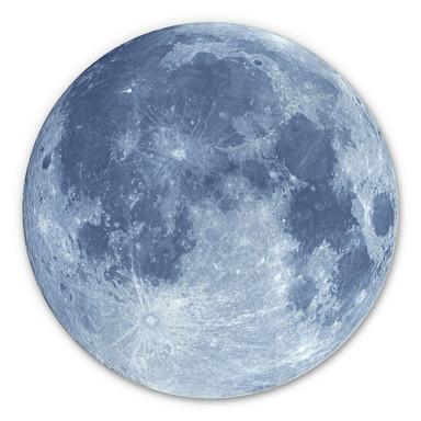 Alu-Dibond Moon Complete - Rund