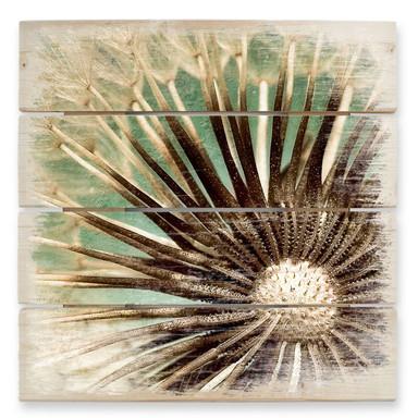 Holzbild Pusteblumen-Poesie