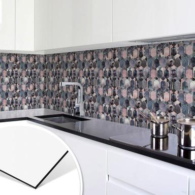 Küchenrückwand Fredriksson - Art Deco: Traum in Rosé und Gold
