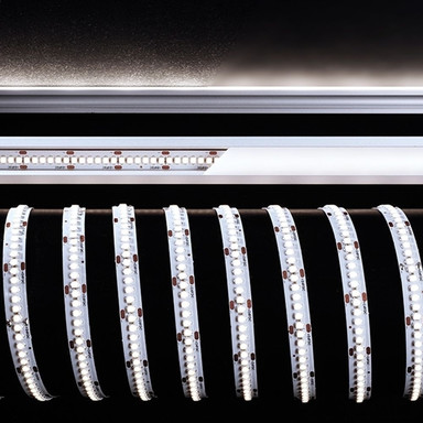 LED Stripe 3528-240-24V-6000K-5M in Weiss 6400lm
