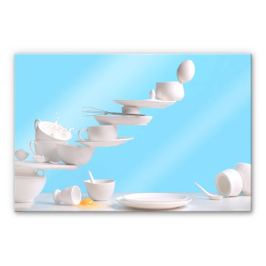Acrylglasbild Belenko - One touch Omelette